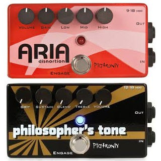 Pigtronix Philosopher's Tone & Aria Disnortion Reviews