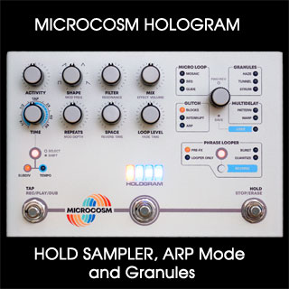 3 Creative Features of the Hologram Microcosm: Hold Sampler, Arp Mode, Granules