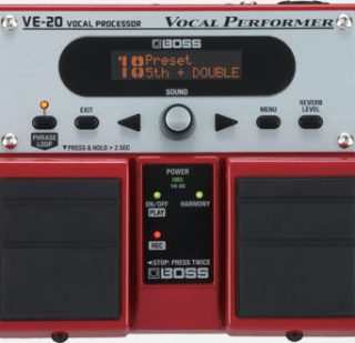 BOSS VE-20 Vocal Processor Review