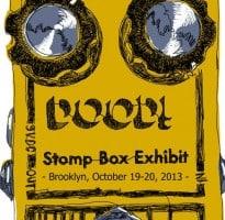 Stompbox Exhibit at Summer NAMM 2014