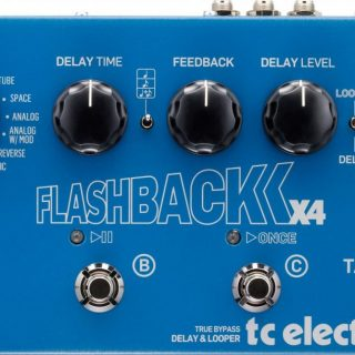 Pedal Review: TC Electronic Flashback X4 Delay/Looper