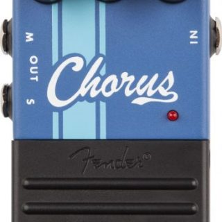 Guitar Pedal Reviews: Fender Competition Chorus Pedal