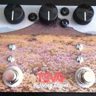 Guitar Pedal News: TSVG Babbling Flower