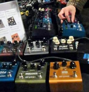 Pictures of the Brooklyn Stompbox Exhibit 2013!