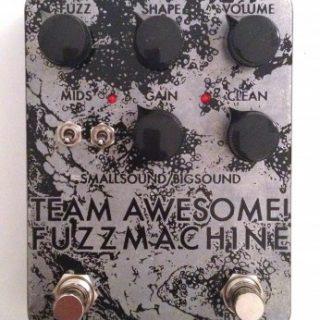 Pedal Reviews: smallsound/bigsound's Team Awesome! Fuzz Machine