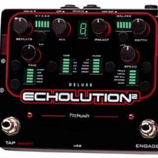 Pedal News: Pigtronix Echolution 2 Delay