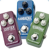Pedal News: TC Electronics' Mini Pedals