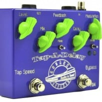 Cusack Tap-A-Delay at the Brooklyn Stompbox Exhibit 2014