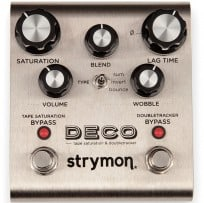 Strymon Deco – Tape Saturation & Doubletracker Pedal