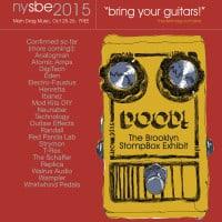Brooklyn Stompbox Exhibit 2015 – September 19-20!