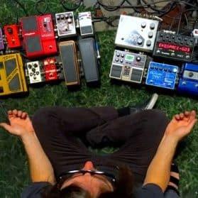 A stompbox inspired delirium: The Stargazer Lillies