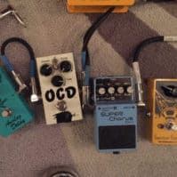 B Boys talk about guitar pedals