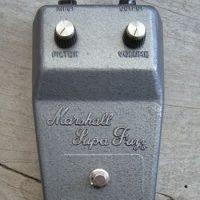 Seminal vintage pedals: Marshall Supa Fuzz – by Gearphoria