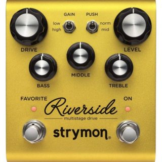 New Pedals: Strymon's Riverside Multistage Drive