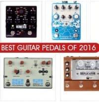 Best Guitar Pedals of 2016 according to Gearphoria