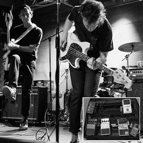 Surf Rock is Dead's Guitar Pedals