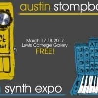 Austin Stompbox Exhibit + Synth Expo! 03/17-18 at Lewis Carnegie Gallery