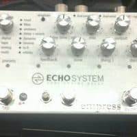 New Pedals: Empress FX Echosystem