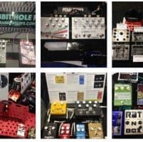 Boards at the NAMM 2017 Stompbox Booth