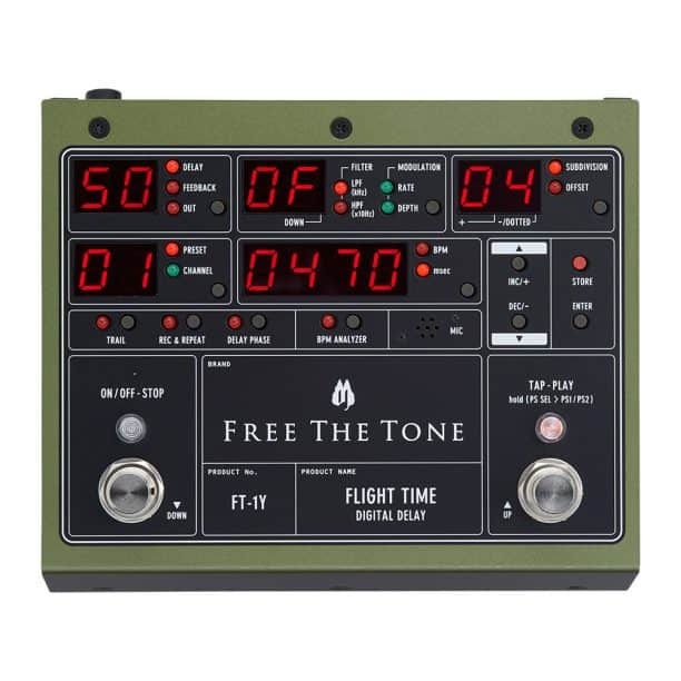 Free the Tone Flight Time FT-2Y Delay
