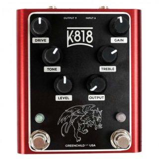 Klon + Tube Screamer in one pedal: Greenchild K818 Dual Overdrive