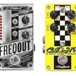 Win a DigiTech FreqOut and Cab Driver