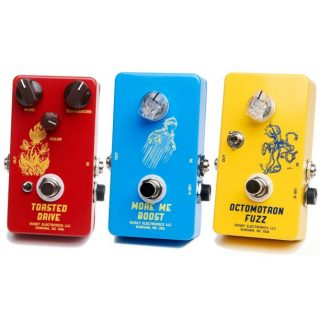 Dusky Electronics: More Me Boost, Toasted Drive and Octomotron Fuzz