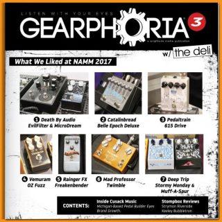 Read Gearphoria inside The Deli's Austin Issue!
