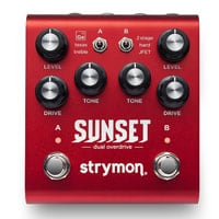 Strymon debuts Sunset Dual Overdrive at Austin Stompbox Exhibit