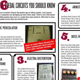 6 of the best vintage guitar effect circuits (by Gearphoria)