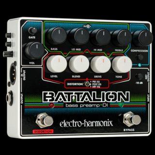 Electro-Harmonix Batallion Bass Preamp and DI
