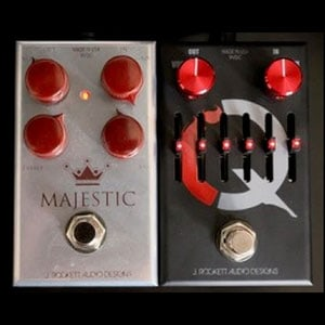 J Rockett Pedals IQ Compressor and Majestic OD