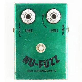 Seminal, vintage pedals: the Rosac Nu Fuzz (from Gearphoria)