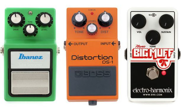 Overdrive vs Distortion vs Fuzz