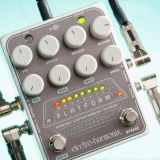 Electro-Harmonix Platform Stereo Compressor/Limiter