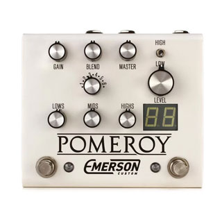 Emerson Custom Pomeroy – Boost, Overdrive & Distortion Pedal