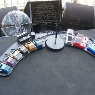 Prince's Pedalboard Around 2012
