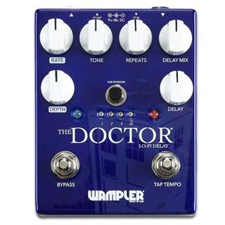 New at the BK SBE 2017: Wampler The Doctor Lo-Fi Delay