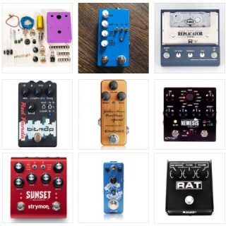Pedals at the Brooklyn Stompbox Exhibit 2017 (M-T)