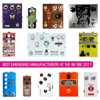 "BK Stompbox Exhibit's 2017 ""Best Emerging Pedal Manufacturer"" Contest Results"