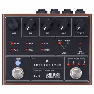 Free the Tone Ambi Space AS-1R Stereo Digital Reverb