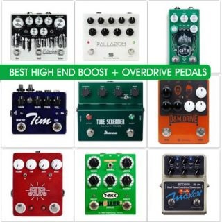 Best Overdrive Pedals with Boost Footswitch in 2019 (above $200) – Compare prices and tone