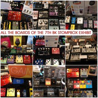 All the Boards of the 7th Brooklyn Stompbox Exhibit