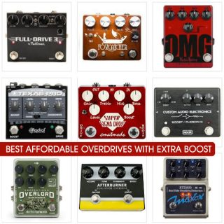 Best Overdrive Pedals with Boost in 2019 (Under $200) – Compare Prices and Tone