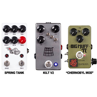 JHS announces three new pedals