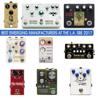 L.A. Stompbox Exhibit 2017's Best Emerging Manufacturer Contest Results