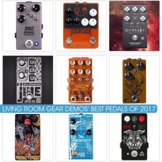 Best 10 Pedals of 2017 according to Livingroom Gear Demos