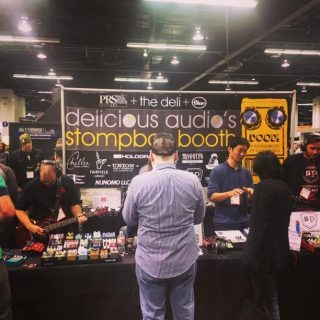 Delicious Audio's Stompbox Booth (#3231 and #3424) hosts 24 pedal builders