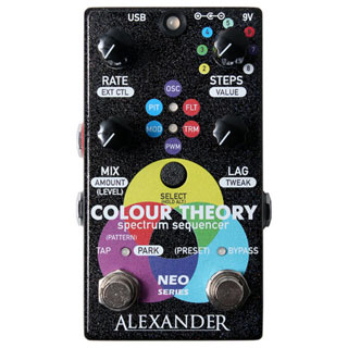 Alexander Pedals Colour Theory Spectrum Sequencer