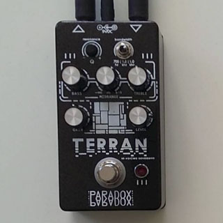 Paradox Effects Terran Overdrive with Parametric EQ